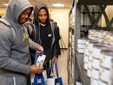 Maryland university opens lounge-style food pantry for students in need