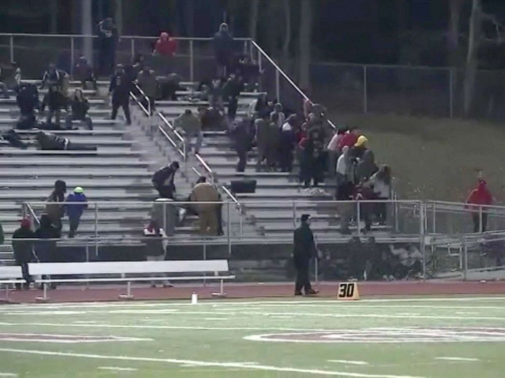 PHOTO: A 10-year-old boy was shot while attending a high school football game in New Jersey.