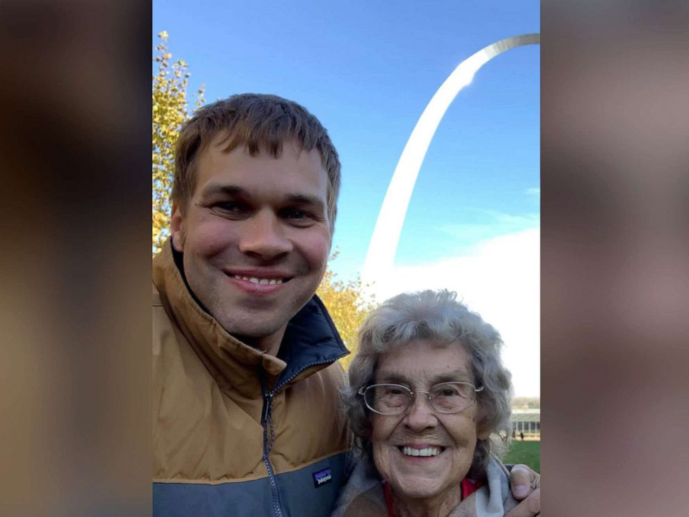 PHOTO: Brad Ryan and his grandmother Joy have spent the last four years traveling more than 40,000 miles and visiting 49 national parks in 41 states including the Gateway Arch, Hot Springs, Big Bend and Death Valley.