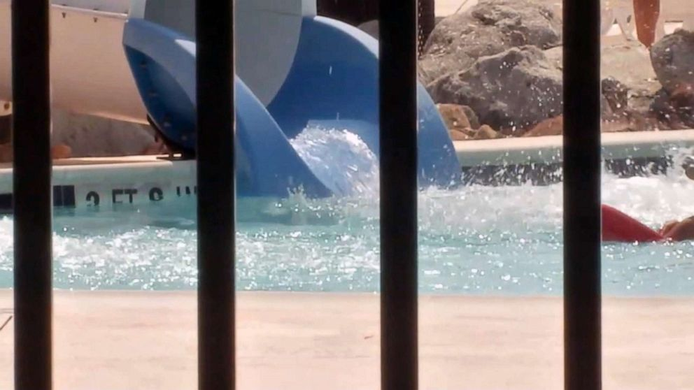 PHOTO: The Nessler Park Family Aquatic Center in Texas City, Texas, June 10, 2019.