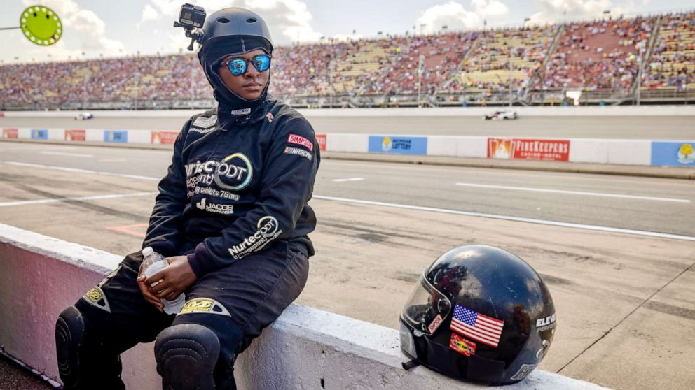 Brehanna Daniels Makes History as First Black Woman in NASCAR Pit Crew