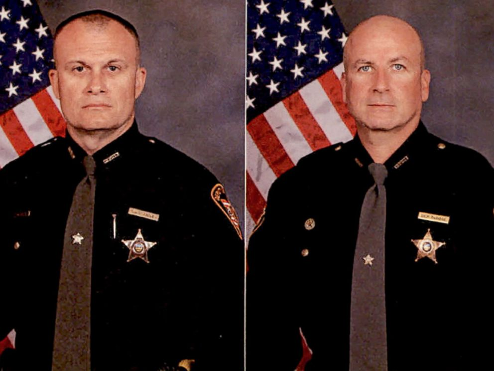 PHOTO: Detective Bill Brewer (left) and Lt. Nick De Rose are pictured in this undated photo released by Clermont County Sheriffs Department.