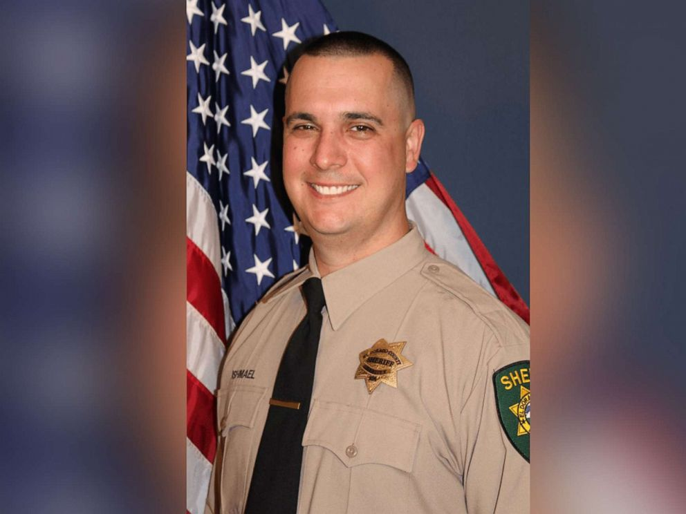 PHOTO: Deputy Brian Ishmael, a 4-year veteran with the El Dorado County Sheriffs office, was killed Oct. 23, 2019.