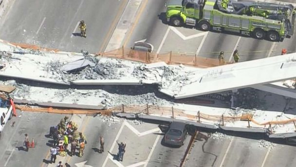 FIU bridge collapse 'felt as if there was an earthquake,' witness says