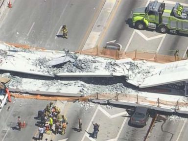 Deadly Miami bridge collapse 'felt as if there was an earthquake,' witness says