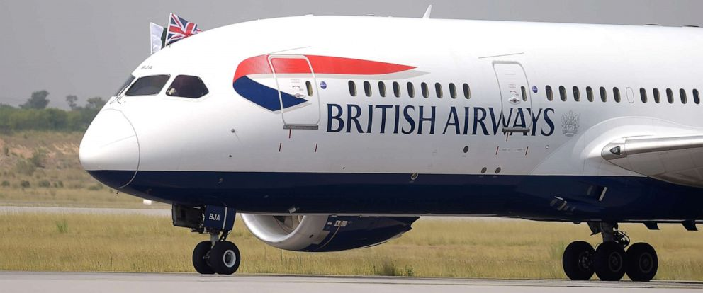 PHOTO:A British Airways aircraft taxis on a runway upon landing at the Islamabad International Airport on the outskirts of Islamabad, June 3, 2019.