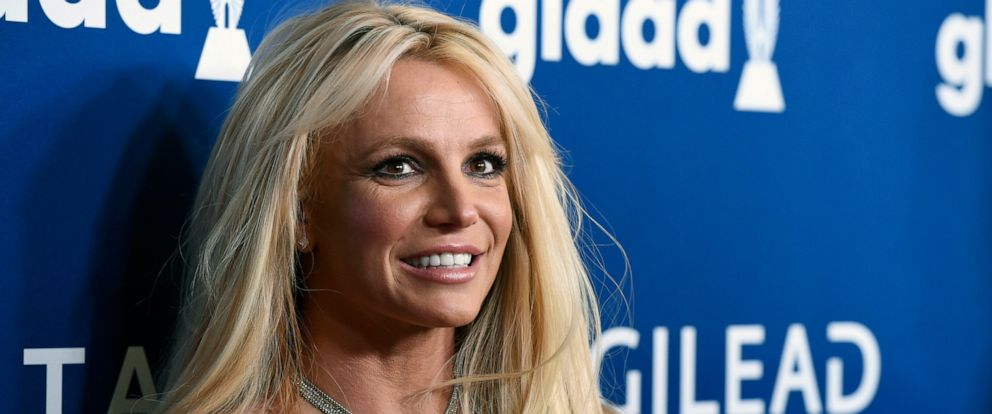 PHOTO: This April 12, 2018 file photo shows Britney Spears at the 29th annual GLAAD Media Awards in Beverly Hills, Calif.