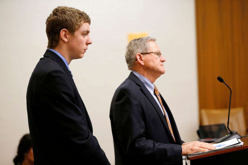 PHOTO: Brock Turner, 19, appears in the Palo Alto branch of Santa Clara County Superior Court court, March 30, 2015.