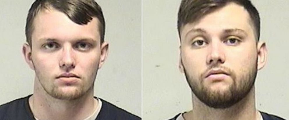PHOTO: Brothers Tyler Huffhines, left, and Jacob Huffhines are seen in these booking photos, Sept. 5, 2019.