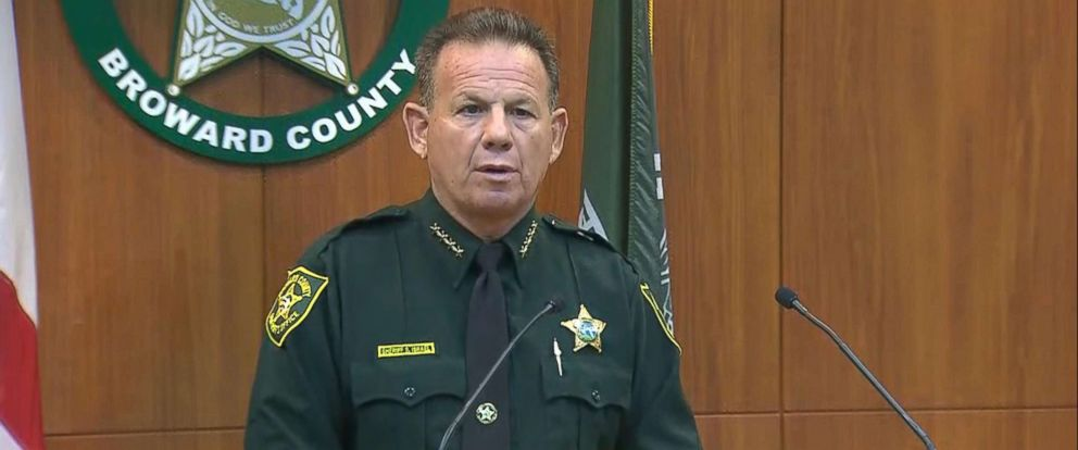 PHOTO: Broward County Sheriff Scott Israel announced that sheriffs deputies will now be carrying AR-15 rifles while on school grounds.