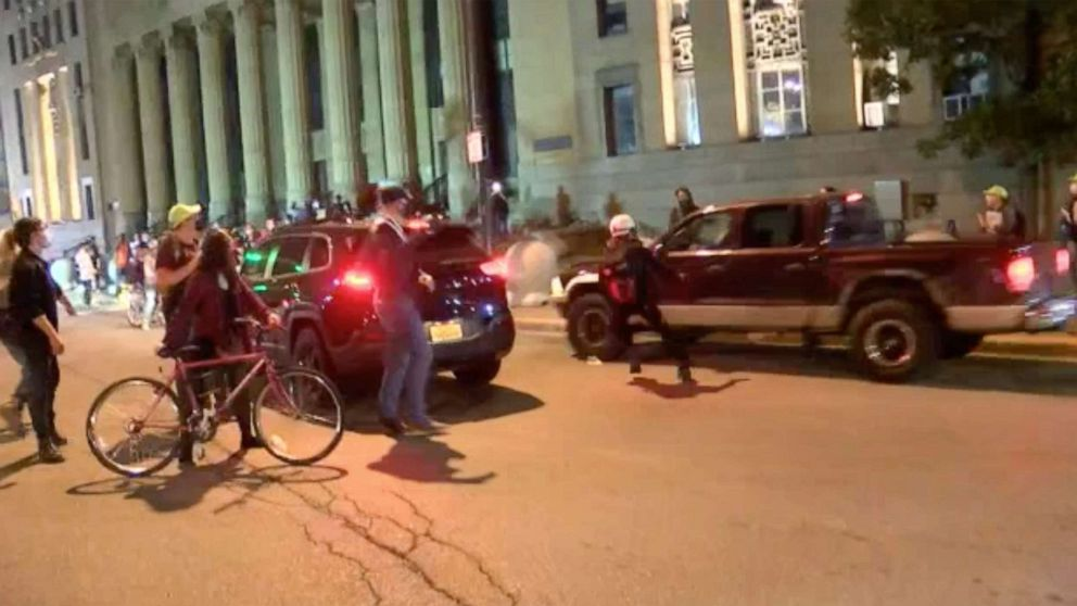 Woman charged with felony in Breonna Taylor protest hit-and-run thumbnail