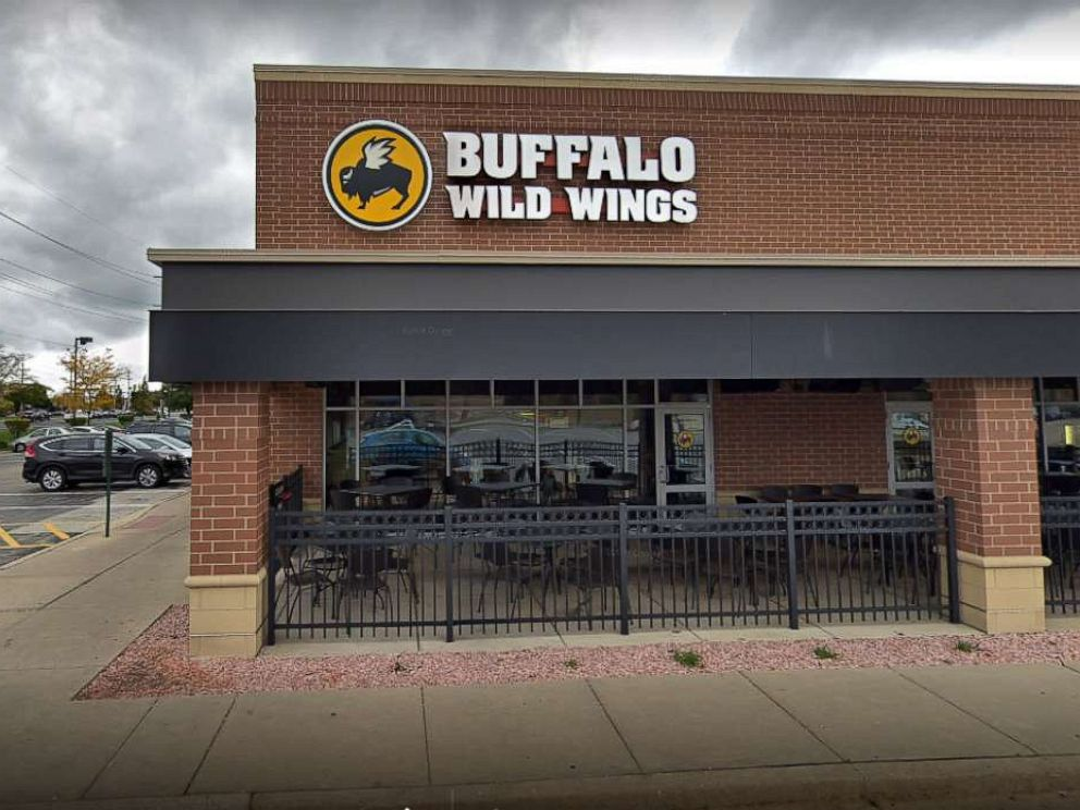 PHOTO: A Buffalo Wild Wings restaurant in Naperville, Ill., is pictured in a Google Maps Street View image dated October 2018.
