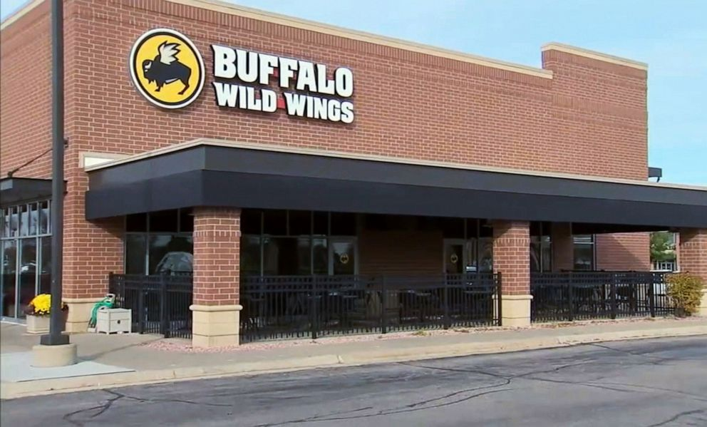 PHOTO: A Buffalo Wild Wings restaurant in Naperville, Ill., was the scene of an alleged racist incident on Nov. 2, 2019.