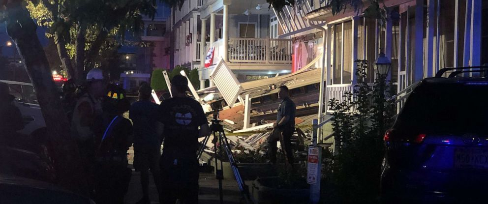 PHOTO: A desk collapse in New Jersey on Saturday resulted in multiple injuries
