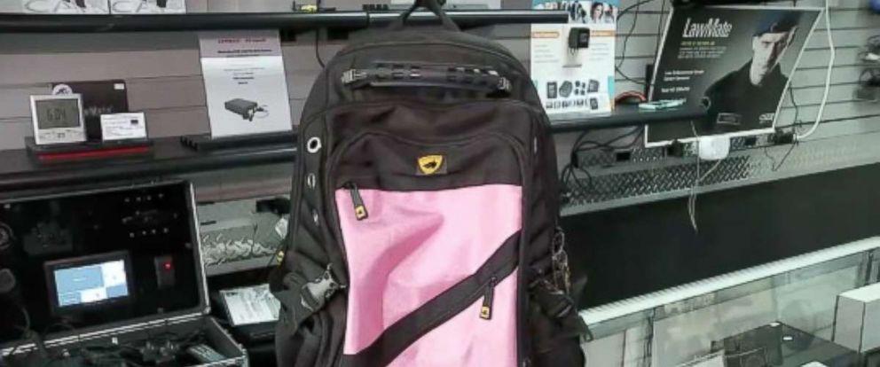 PHOTO: Guard Dog Security bulletproof backpack.