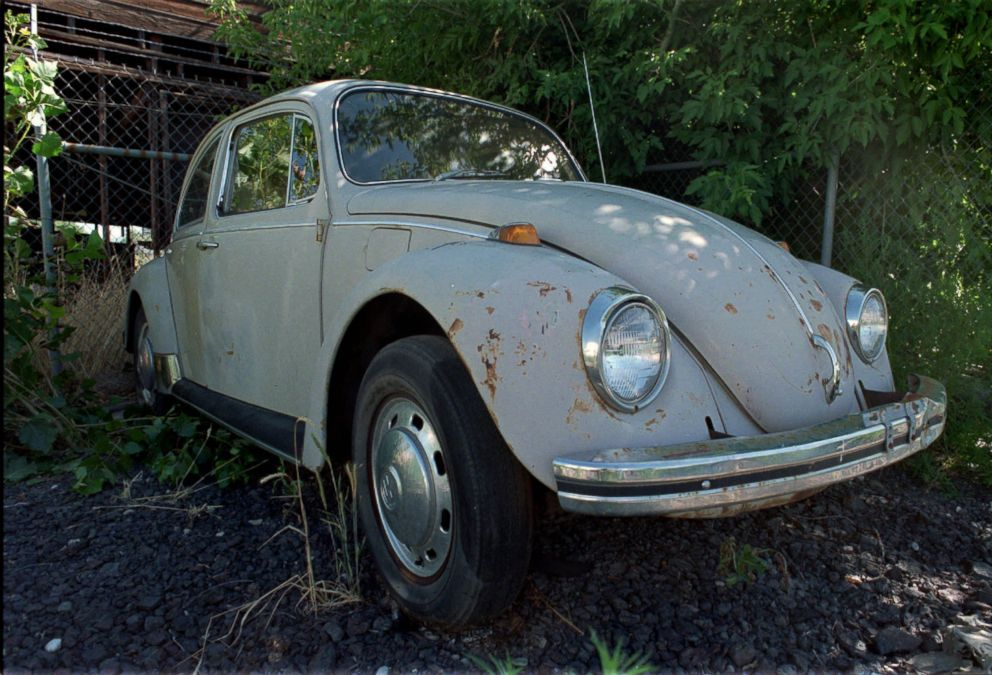 PHOTO: The 1968 Volkswagon Bug that belonged to serial killer Ted Bundy sits in the corner of a rental lot waiting for a buyer, July 15, 1997, in Salt Lake City.