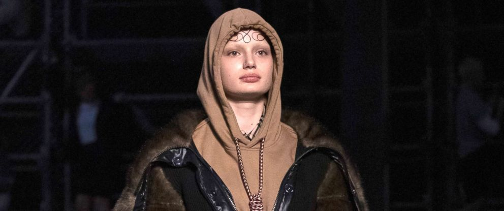 07cbb666782a PHOTO  A model wears a creation by Burberry at the Autumn Winter 2019  fashion