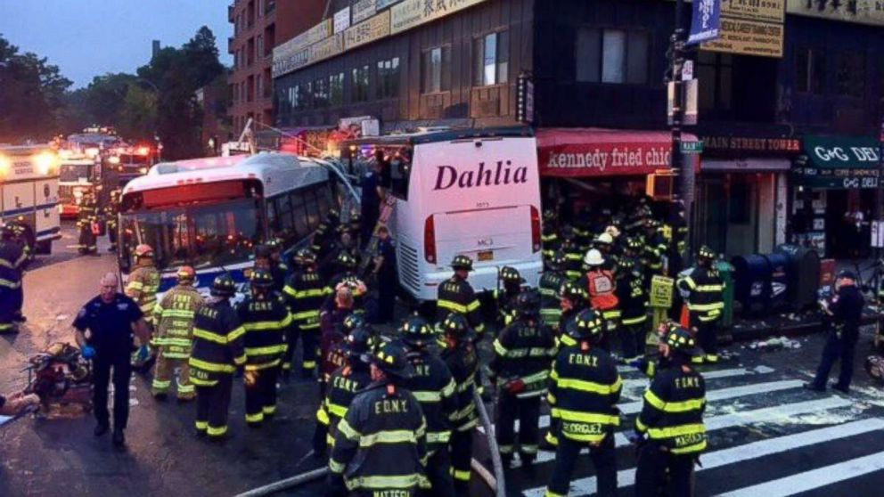 Bus Driver In Deadly New York Crash Was Fired By Mta After Dui Was