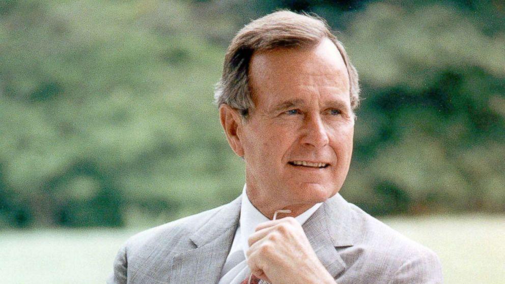 George H.W. Bush in 1985.