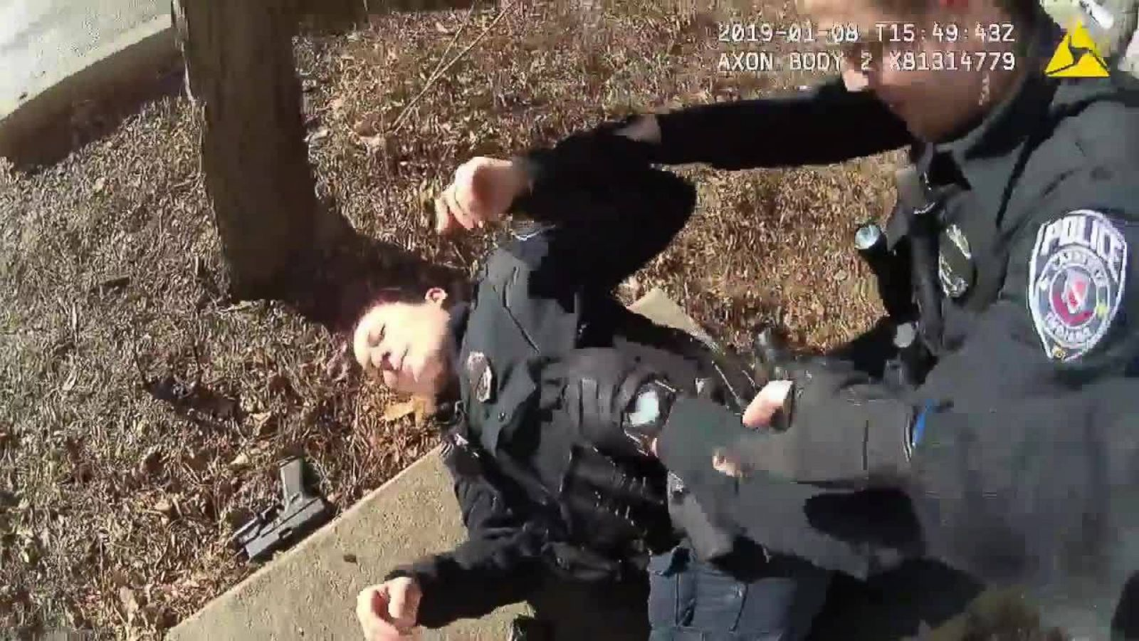 Indiana police release body cam footage of officer accidentally