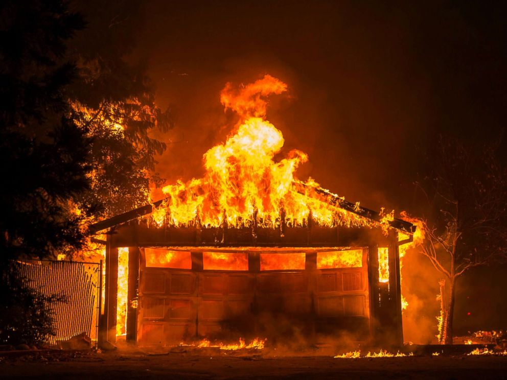 'Paradise' lost: 9 dead as Northern California blaze wrecks entire town: Officials