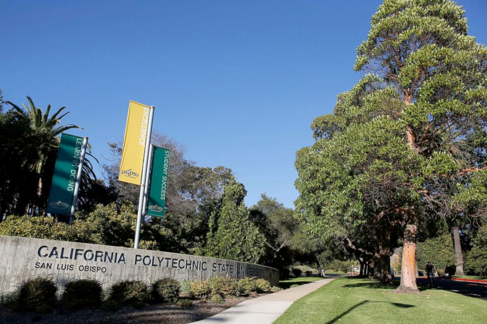PHOTO: The campus of California Polytechnic State University in San Luis Obispo, Calif.