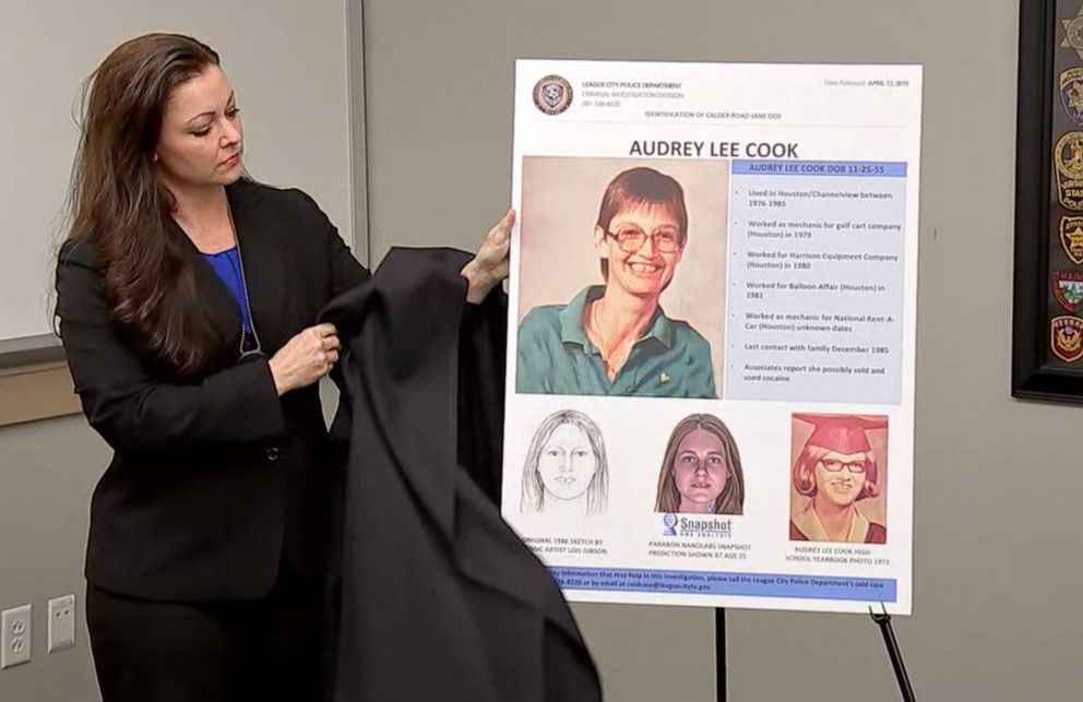 Texas Authorities Identify 2 Victims In Decades Old Killing Fields Murders Using Genetic Genealogy Abc News