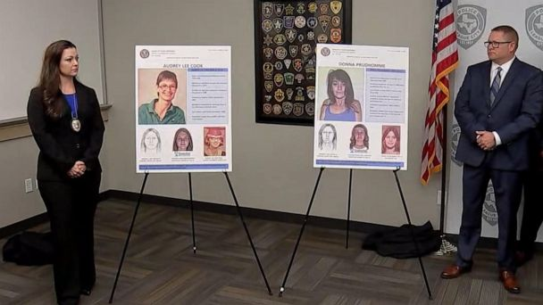 Texas authorities identify 2 victims in decades-old 'Killing Fields' murders using genetic genealogy