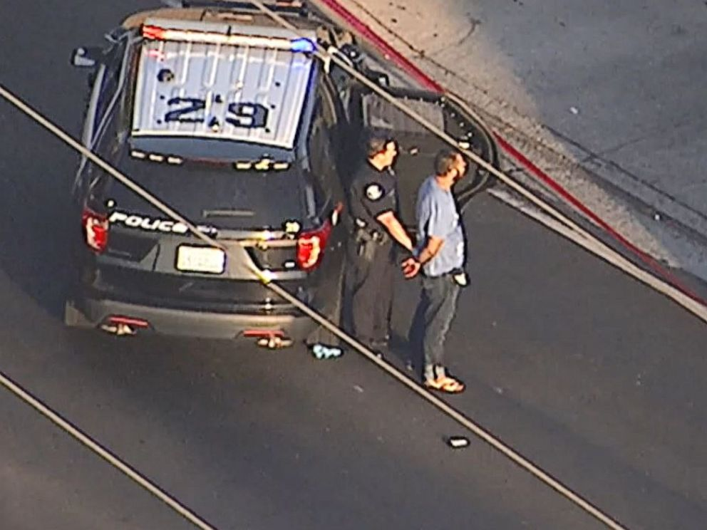 PHOTO: A 33-year-old man was arrested for stabbing four people to death in a crime spree covering Garden Grove and Santa Ana, Calif., on Wednesday, Aug. 7, 2019.