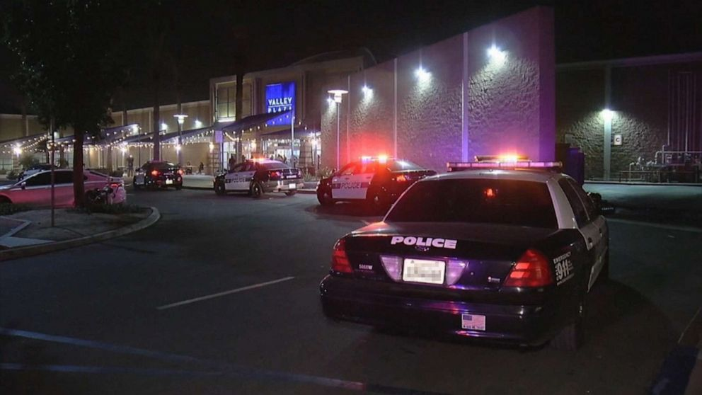 PHOTO: A shooting took place at the Valley Plaza Mall in Bakersfield, Calif., on Nov. 25, 2019.
