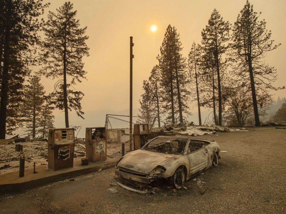 California's Camp and Woolsey Fires in Pictures: Devastation in Paradise and Malibu