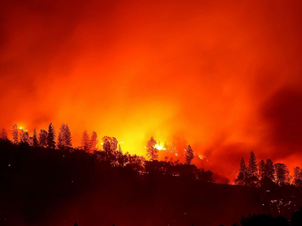 Paradise lost: Grim search under way in incinerated California town