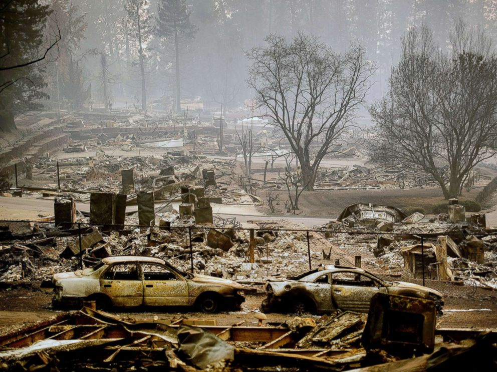 Camp Fire Map Paradise Ca.California Wildfires Death Toll Climbs To 87 Almost 500 Still