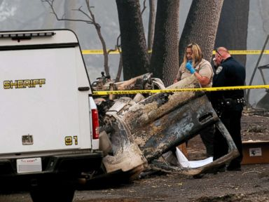 Relentless California wildfires leave 82 dead nearly 700 unaccounted for
