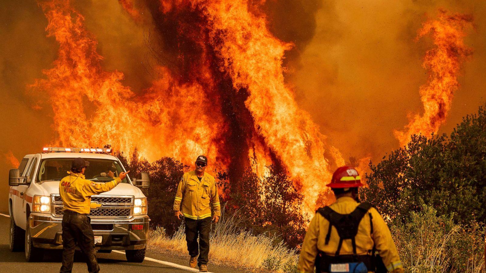 US Military News • Joint Force Rattlesnake Battles California's Wildfires