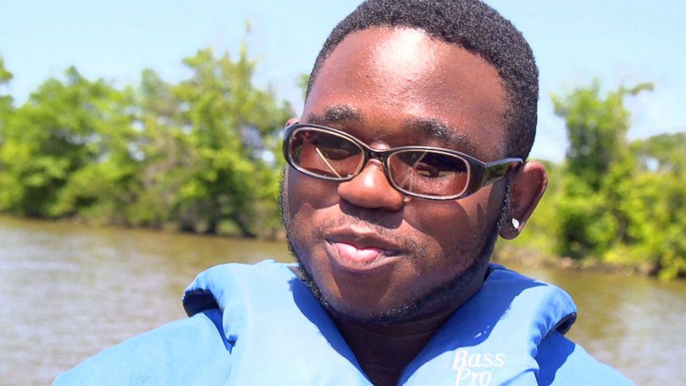 Ivan Stevens has a summer job giving guided tours on the Cooper River in Camden, New Jersey.