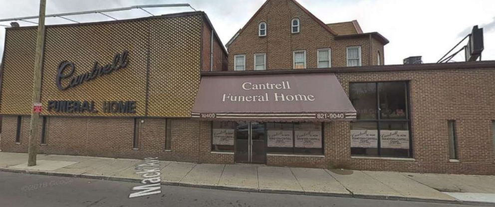 PHOTO: The bodies of 11 infants were discovered at the shuttered Cantrell Funeral Home in Detroit on Friday, Oct. 12, 2018.