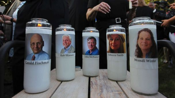 Newspaper where 5 gunned down thanks public, affirms mission: 'We are journalists'