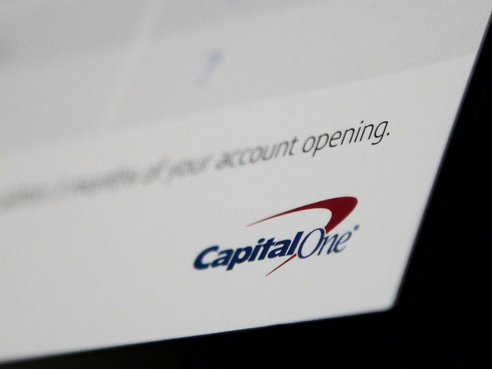 PHOTO: This Monday, July 22, 2019, photo shows Capital One mailing in North Andover, Mass. Capital One says a hacker got access to the personal information of over 100 million individuals applying for credit. (AP Photo/Elise Amendola)