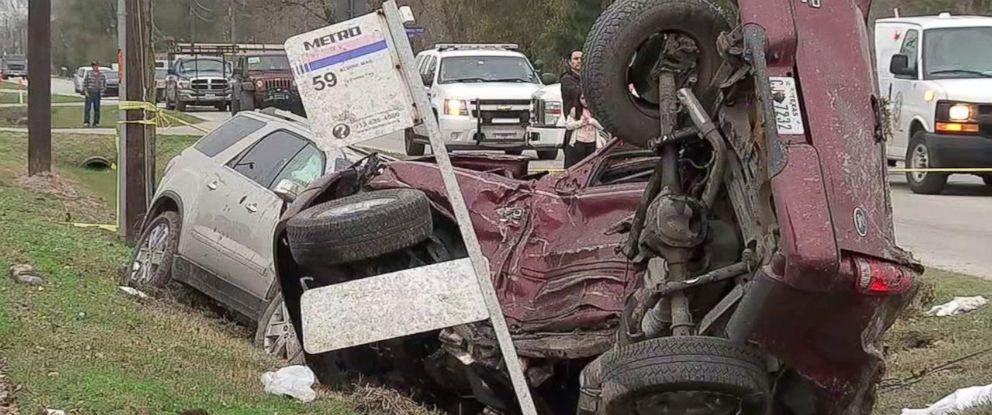 Accident car gay man turn