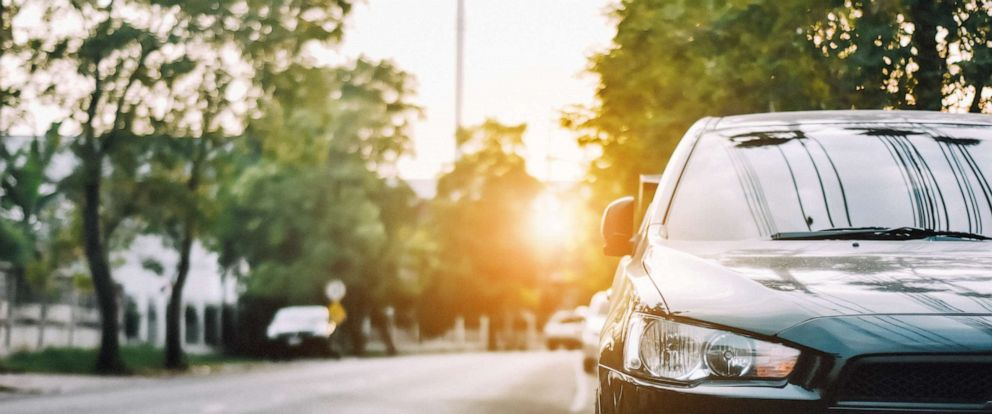 PHOTO: In this undated stock photo shows a car parked in the sun on a street.