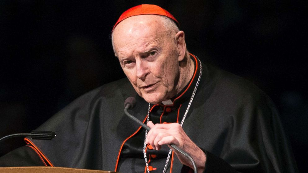 Former US Cardinal Theodore McCarrick defrocked by Vatican over sex abuse claims thumbnail