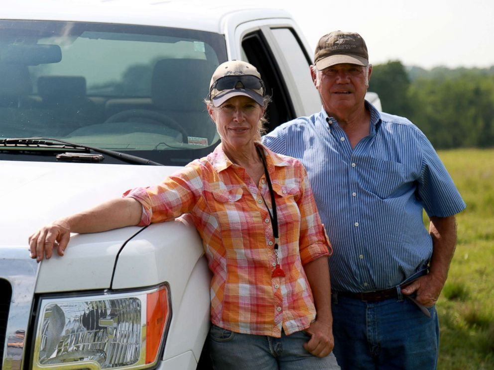 PHOTO: Kathy and Jack Knox pictured at Ettrick Kennels in Butler, MO.