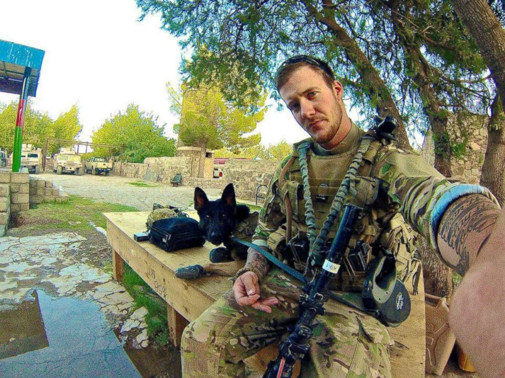 PHOTO: Sgt. Wess Brown (U.S. Army) pictured with Staff Sergeant Isky Brown in Afghanistan.