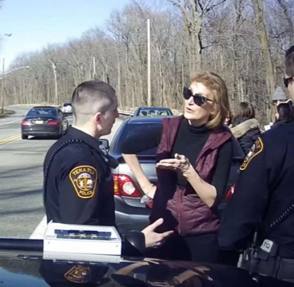 PHOTO: Caren Turner cursed police officers in New Jersey after her daughter was pulled over for driving a vehicle with illegally tinted windows.