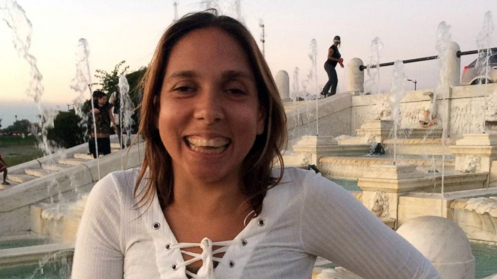 Carla Valpeoz, a partially blind traveler who has gone missing in Peru, is seen in an undated photo released to ABC News by a family member.
