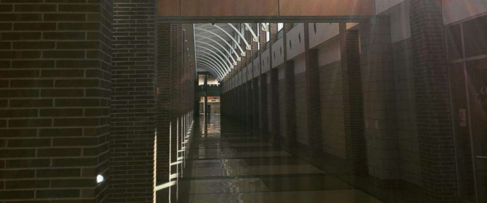 PHOTO: Carmel High School in Indiana posted this picture of their hallway on the schools Instagram account.
