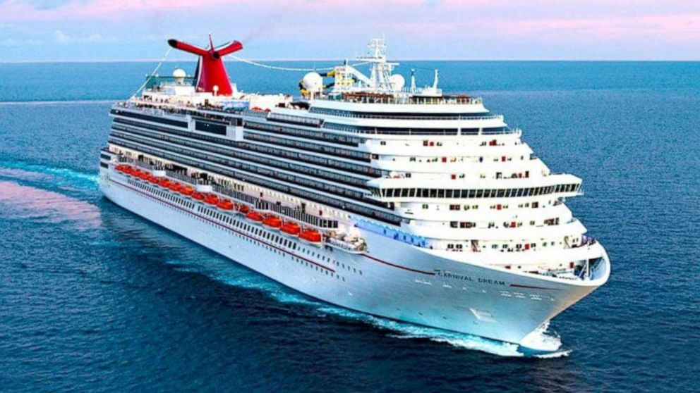 Coast Guard searching for man who went overboard from Carnival cruise ship off Texas