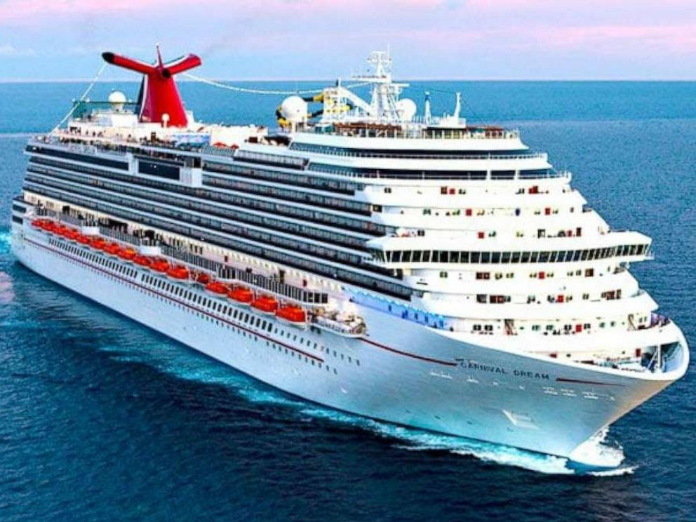 Coast Guard searching for man who went overboard from Carnival cruise ship