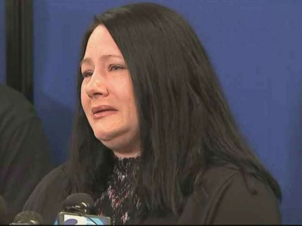 PHOTO: Carrie Ritch, the mother of missing 6-year-old boy Maddox, speaks at a press conference in Gastonia, N.C., on Tuesday, Sept. 25, 2018.